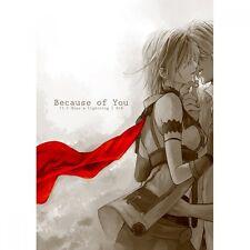 Final Fantasy XIII-2 Doujinshi, Hope x Lightning, Because of You, CassiS, RARE
