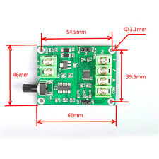 5V-12V DC Brushless Motor Driver Board Controller for Hard drive motor 3/4 wire