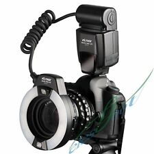 Viltrox JY670 LED Macro Ring Light Flash For Canon Nikon Pentax Olympus Sony【IE】