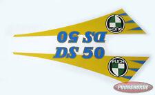 Tankaufklebersatz Puch DS 50 Aufkleber Stickersatz Tank Sticker Satz Oldtimer
