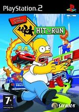 ps2 SIMPSONS HIT And RUN - Great condition comes with BOOKLET