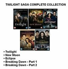 TWILIGHT SAGA 1-5  All 5 Movie BRAND NEW AND SEALED UK REGION 2 DVD