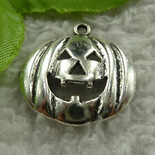 free ship 136 pieces tibet silver pumpkin charms 25x24mm #3994