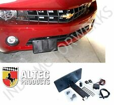CAMARO RETRACTABLE FRONT LICENSE PLATE POWERED ALTEC NEW 10-15 RS SS Z28 ZL1