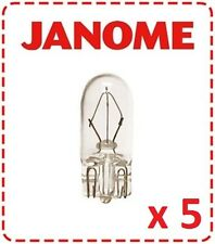 Janome Light Bulb - Globe, Push In, Wedge, Elna, Juki, New Home, Kenmore, 12v