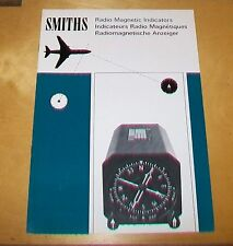SMITHS INDUSTRIES RADIO MAGNETIC INDICATORS BROCHURE. JANUARY 1968.