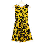 GIRLS KIDS NEW FLORAL PRINT SKATER DRESS AGE 2 3 4 5 6 7 8 9 10 11 12 13 YEARS