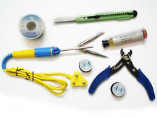 New 8 IN 1 Soldering Iron - 25W , Solder Wire,Paste,Cutter,ETC