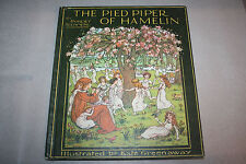 Kate Greenaway The Pied Piper Of Hamelin Robert Browning Childrens Illust Color
