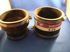 """Lot of 2 American Valve Flexible Couplings 3"""" X 4"""" and 4"""" x 4"""" BRAND NEW"""