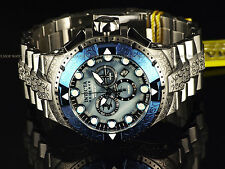 New Invicta Reserve 50mm Scrollwork Excalibur Swiss Made Chrono Mop Dial Watch