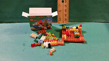 Barbie 1:6 Furniture Handmade Miniature Lego Duplo Box and Pieces ff