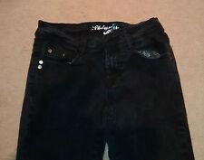 Girls skinny black jeans - Denim Co UK size 6