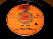 MARTY ROBBINS - RUBY ANN - WON'T YOU FORGIVE  - LISTEN - ROCK N ROLL