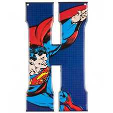 Superhero Marvel Comics  DC Comics Metal Tin Signs Wall Letters SUPERMAN SIGN
