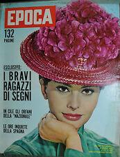 EPOCA N°608/ 20/MAG/1962 * I BRAVI RAGAZZI DI SEGNI* LE ORE INQUIETE DELLA SPAGN