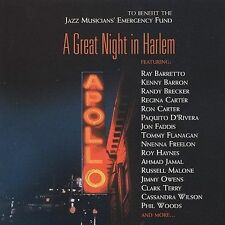 NEW - Great Night in Harlem by Various Artists