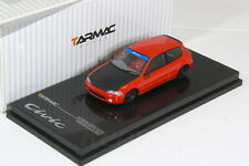 Tarmac 1/64 Honda Ciciv EG6 Group A Racing Red no kyosho