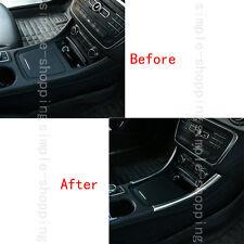 2pcs Chrome Center Control Side Cover Trim For Mercedes-Benz A Class W176 13-16
