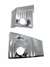 Pair Chrome Swing Arm Pivot Frame Trim Covers For Honda VTX 1300 2003-2009 S R C