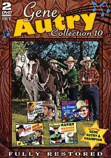 Gene Autry: Collection 10 (DVD, 2015, 2-Disc Set)  Brand new Factory sealed