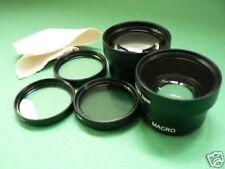 BK LENS WIDE+TELE+FILTER FOR 37mm Sony HDR-PJ10E HDR-XR160E