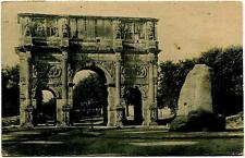 1923 Roma - Arco di Costantino dest. Fossano - FP B/N VG