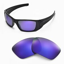 New Walleva Polarized Purple Lenses For Oakley Fuel Cell