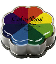 Clearsnap ColorBox PETAL POINT 8-Color Removable Ink Set Pinwheel