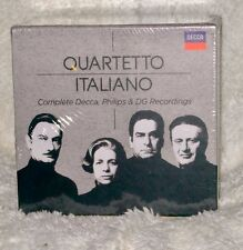 QUARTETTO ITALIANO Complete Decca, Philips, DG Recordings, 37 CDs, Boxed, Sealed