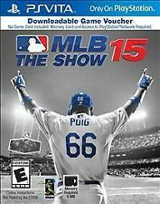 MLB 15: The Show (Sony PlayStation Vita, 2015) GAME VOUCHER NEW SEALED