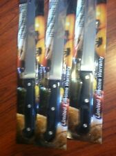Laser Sharp Quality Kitchen Cutlery Double Edge Never Needs Sharpen Forked Lot 3