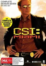 CSI: Miami : Season 7 (DVD, 2011, 6-Disc Set)
