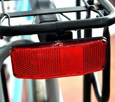 DZ837 Bicycle Bike MTB Safety Caution Warning Reflector Disc Rear Pannier Racks