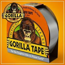 GORILLA Glue Tape Incredibly Strong Gaffer Duct Tape Toughest Job 48mm x 11M SIL