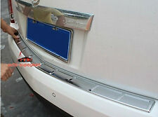 Chrome Rear Door Bumper Protector sill plate cover for Cadillac SRX 2010-2016