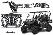 AMR Racing Kawasaki Teryx 800 4 Door Graphic Decal Kit UTV Part 13-15 DEADEN BLK