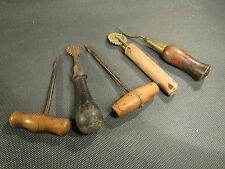 Outils anciens Old tools saddler leather shoemaker bourrelier cordonnier sellier
