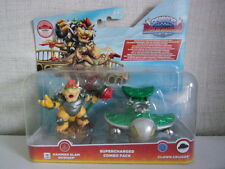 Skylanders Superchargers Clown Cruiser + amiibo Hammer Slam Bowser Duo Pack-Neu