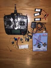 RC Car/Plane Electronics Lot, Hacker Motor, JR Trans., Thunderpower batt, servos