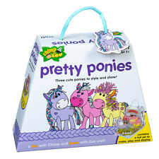 Chimp And Zee Pretty Ponies Craft Set - Learn Through Play