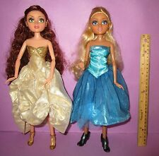 "Moxie Teenz Doll Dolls Lot Teens Prom Melrose Leigh Lashes Dressed 14"" MGA HTF"