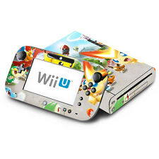 Skin Decal Cover for Nintendo Wii U Console & GamePad - Pokemon Rumble Blast