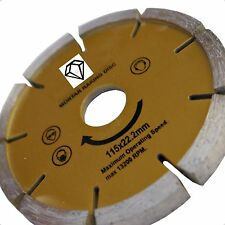 "Diamond Disc Mortar Raker  Pointing 115mm 4 1/2"" Grinder"