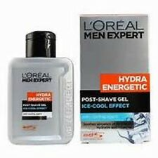 2 x L'Oreal Men Expert HYDRA ENERGETIC Post Shave Gel Ice Cool Effect 100ml each