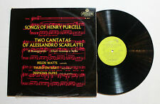 HENRY PURCELL Songs Of Henry Purcell L'oiseau Lyre Rec OL-50173 UK 1958 NM- 9A