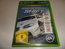 XBOX 360 NEED FOR SPEED SHIFT X-BOX 360 USK-Classificazione: USK a partire dal 6 Sbloccato