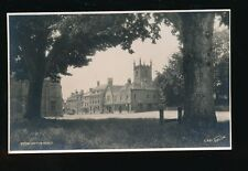 Gloucestershire STOW-ON-THE-WOLD from village green c1920/30s? RP PPC