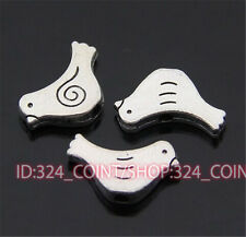 P409 20pc Tibetan Silver Charm dove Spacer Beads accessories wholesale