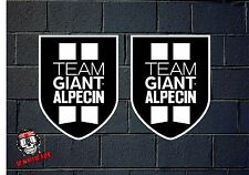 PEGATINA STICKER  ADESIVI AUFKLEBER DECAL 2X GIANT TEAM  ALPECIN